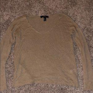 Tan light sweater